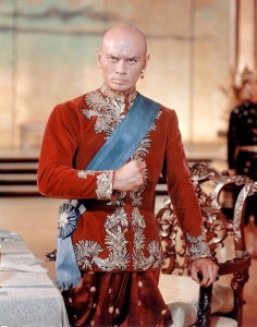 Brynner was playing a human in this photo.
