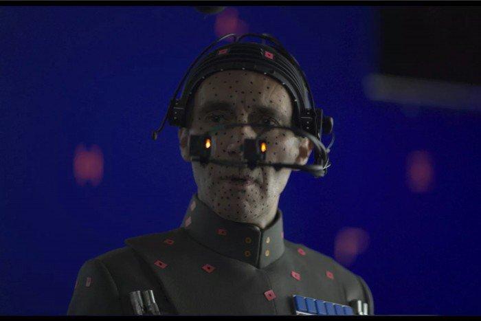 Guy Henry doing motion capture as Tarkin.