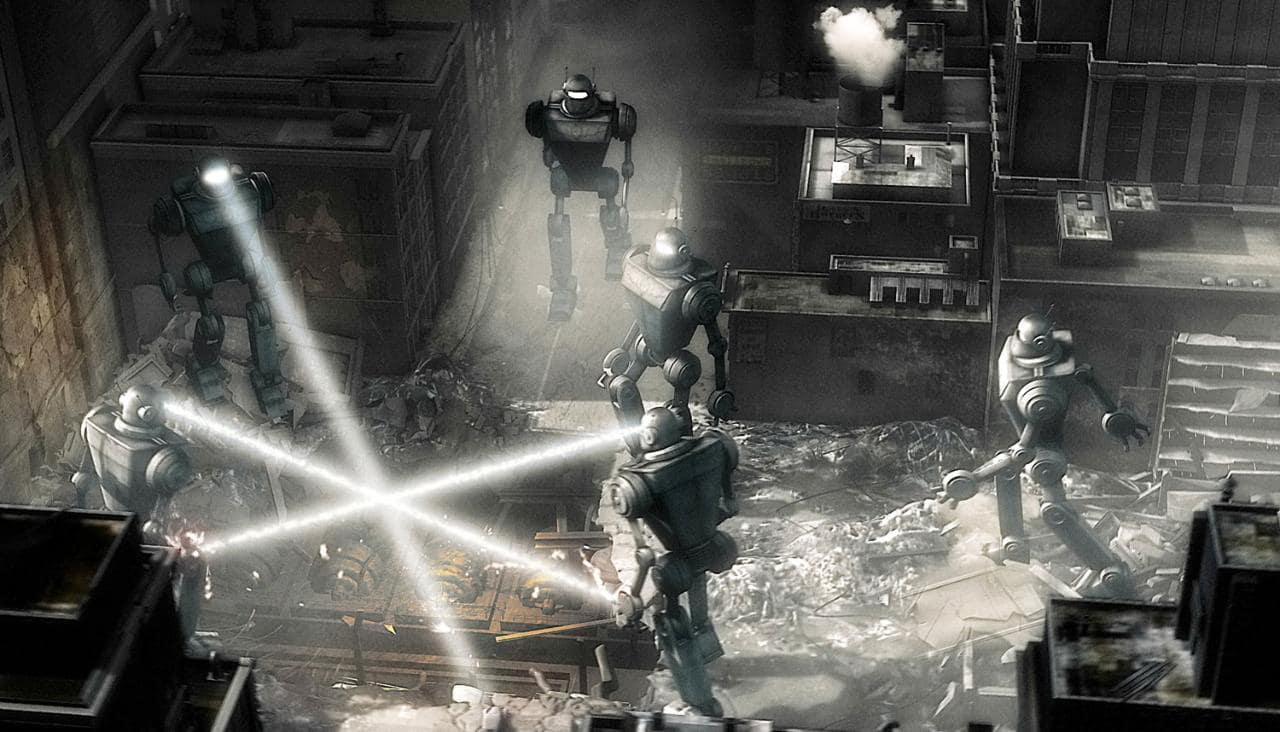 Robots stealing generators beneath Manhattan
