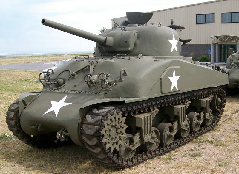 M4 Sherman, US late-war workhorse. I think it's cute.