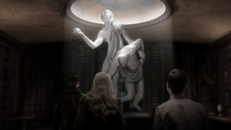 That creepy statue I was telling you about