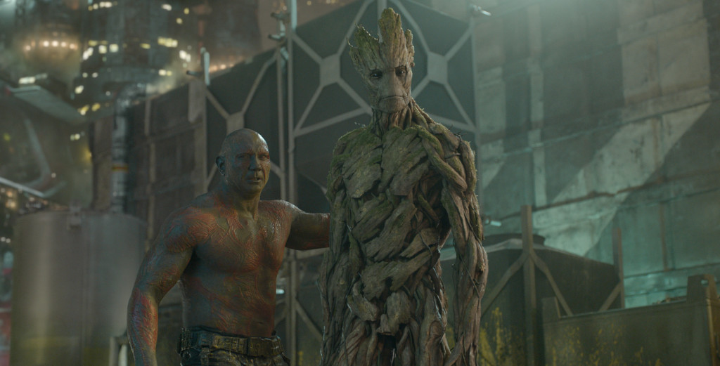 Drax and Groot