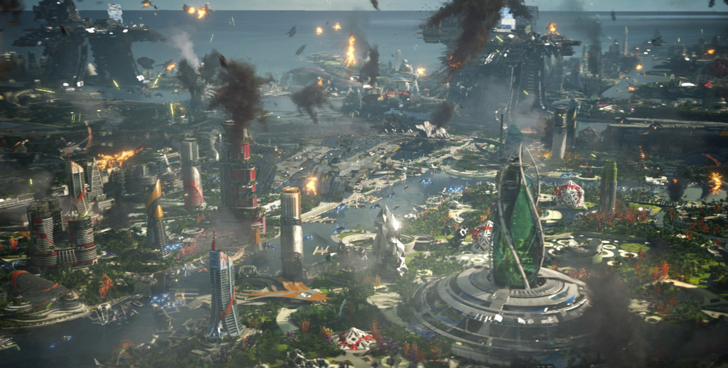 Xandar, or a screen grab from SimCity?