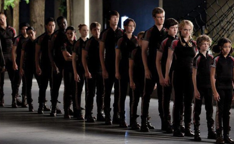 who are the main characters in hunger games